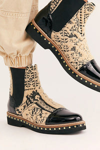 Free People Textile Atlas Chelsea Boot