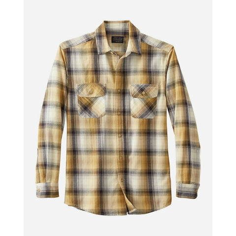 Pendleton Men's Beach Shack Cotton Twill Shirt! THREE COLOR OPTIONS!