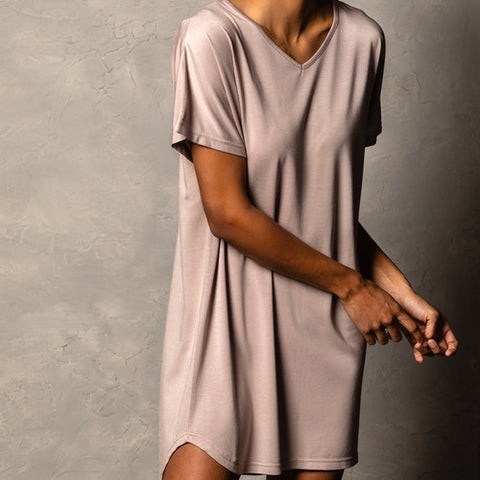 Bamboo Lounge Shirt in Mauve!!!