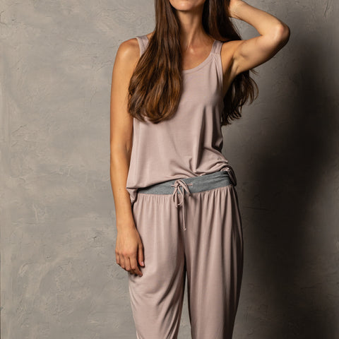 Bamboo Tank Top in Mauve!!!