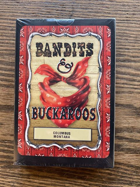 "Columbus, Montana: ""Bandits & Buckaroos"" Matching Card Game!!!"
