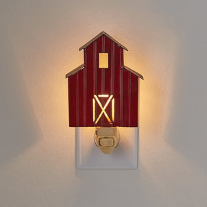 Red Barn Nightlight