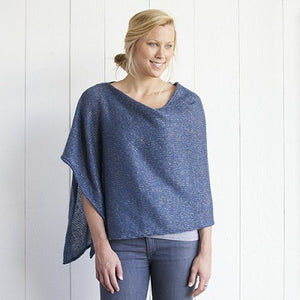 Natural Life Blue Knit Poncho!!!