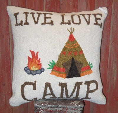 Live Love Camp Pillow!!!