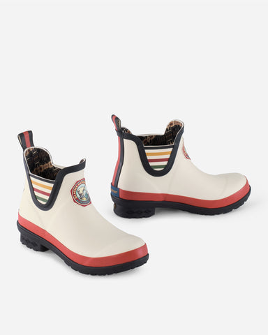 Pendleton National Park Chelsea Rain Boot!!! Glacier Park White!!!