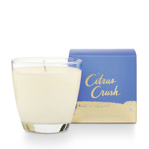 Citrus Crush Demi Boxed Glass Candle!!!