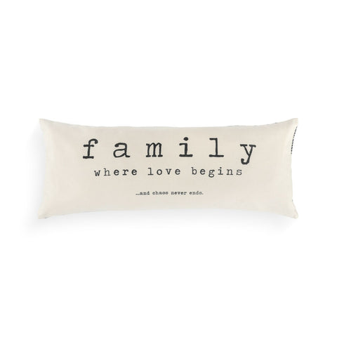 Together Time Family Pillow