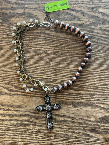 Gypsy Soule Cross Necklace