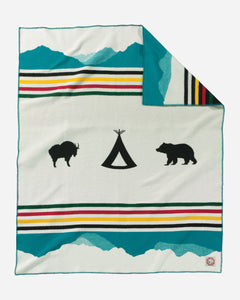 Pendleton Crown Of The Continent Blanket!!!