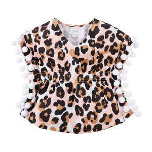 Mud Pie Toddler Leopard Cover Up