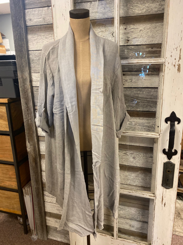 Amorosa Distressed Linen Jacket!!!