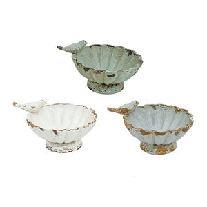 Decorative Pewter Bowls! 3 Color Options