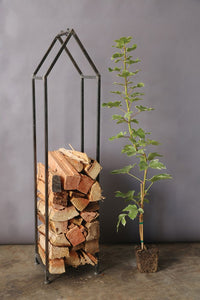Metal House Log Holder! PICK UP ONLY!