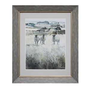 Framed Wall Decor w/ Sheep!!!
