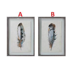 Feather Wall Decor 2 Styles