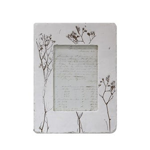 "Frame With Wildflower Design 5""x7"""