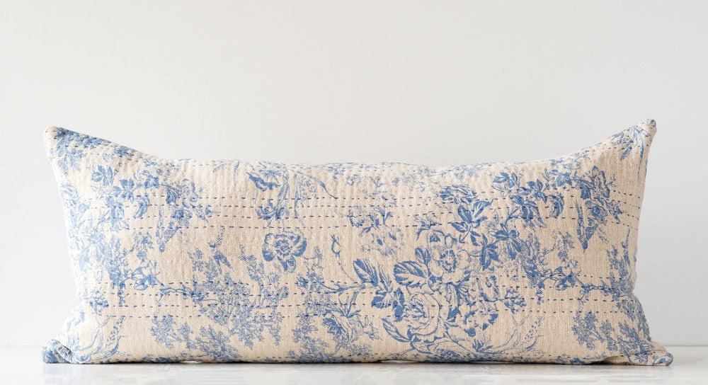 Toile Pattern Pillow