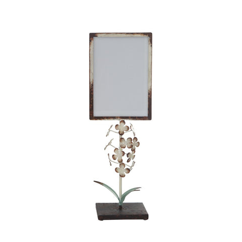 Frame On Stand With Flowers