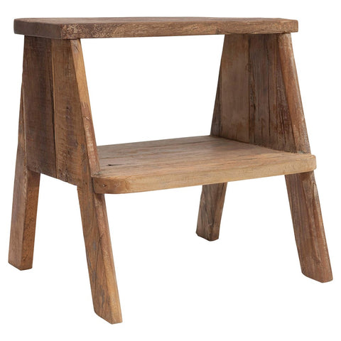 Reclaimed Wood Step Stool/Side Table! PICK UP ONLY!
