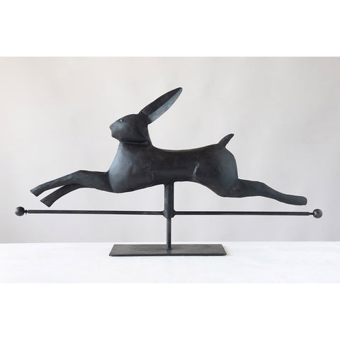Leaping Rabbit on Stand