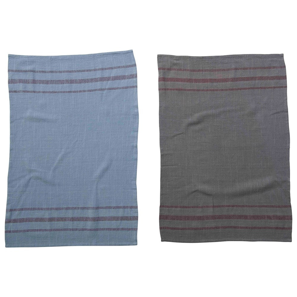 Overdyed Tea Towel Set Of 2