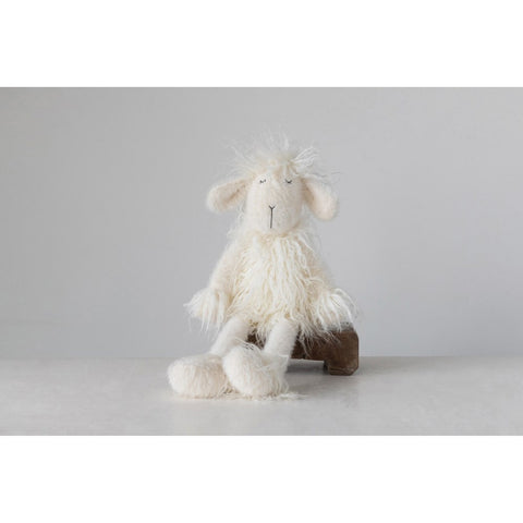 White Plush Lamb