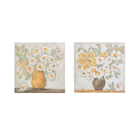 Flowers In Vase Wall Decor 2 Styles