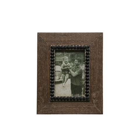 "Wood Photo Frame (Holds 4"" x 6"" Photo)"