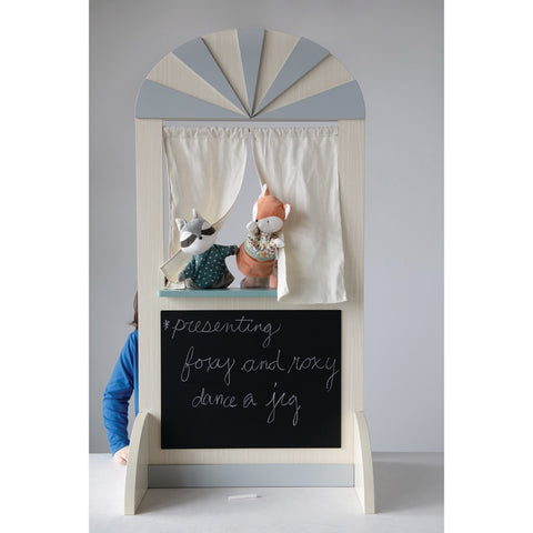2-Sided Puppet Theater/Play Store with Chalkboard! PICK UP ONLY!
