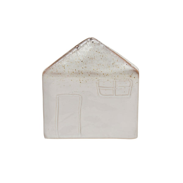 Stoneware House Sponge Holder