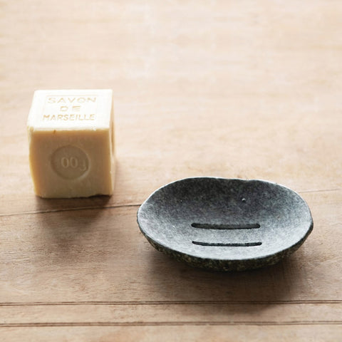 Natural Stone Soap Dish (Each One Will Vary)