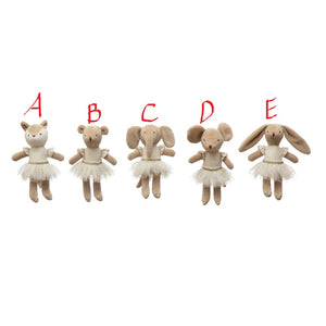 Plush Ballerina Animal! FIVE Styles!