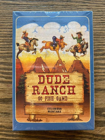 "Columbus, Montana: ""Dude Ranch"" Go Fish Card Game!!!"