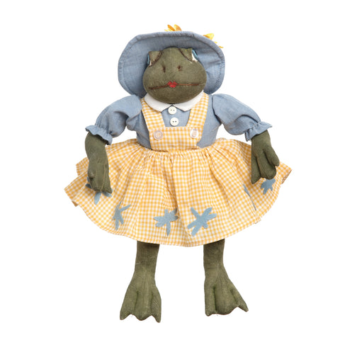Joe Spencer Faye Frog Figure Doll
