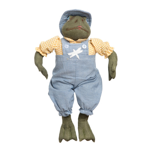 Joe Spencer Felix Frog Figure Doll