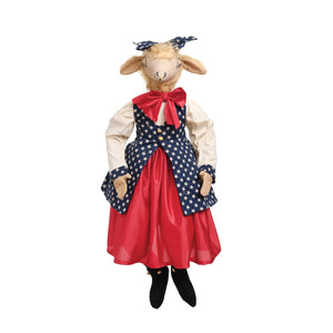 Joe Spencer Gussie Sheep Figure Doll