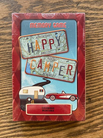 "Columbus, Montana: ""Happy Camper"" Matching Card Game!!!"