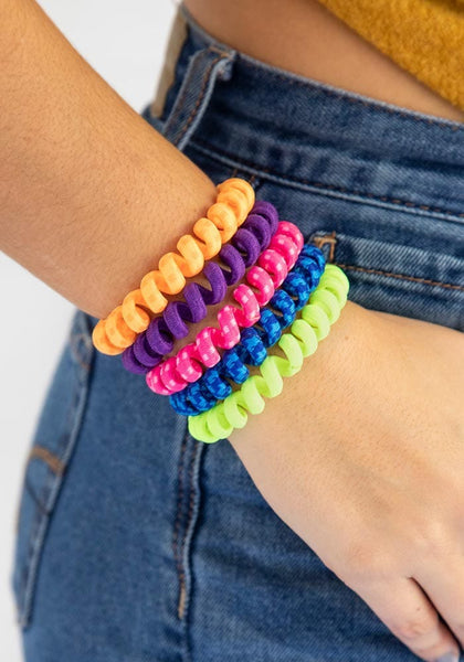 Natural Life Rainbow Paracord Barcelona Bands