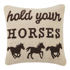 Hold your horses Pillow