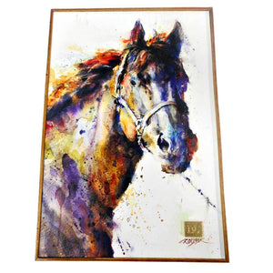 Poncho Horse Wall Decor