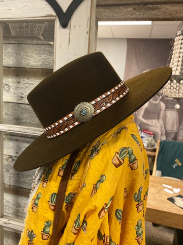 Charlie 1 Horse Hat Co Sedona Rose Hat