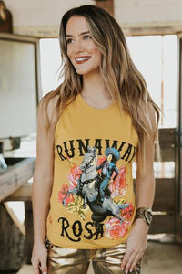 Rodeo Quincy Runaway Rosa Tank