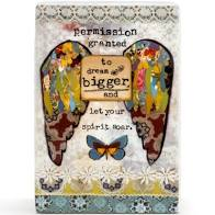 Kelly Rae Roberts Dream Bigger Plaque