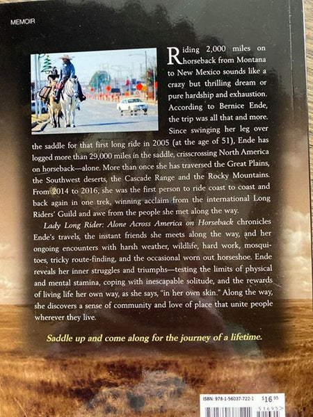 Lady Long Rider: Alone Across America on Horseback
