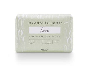 Magnolia Home Love Bar Soap