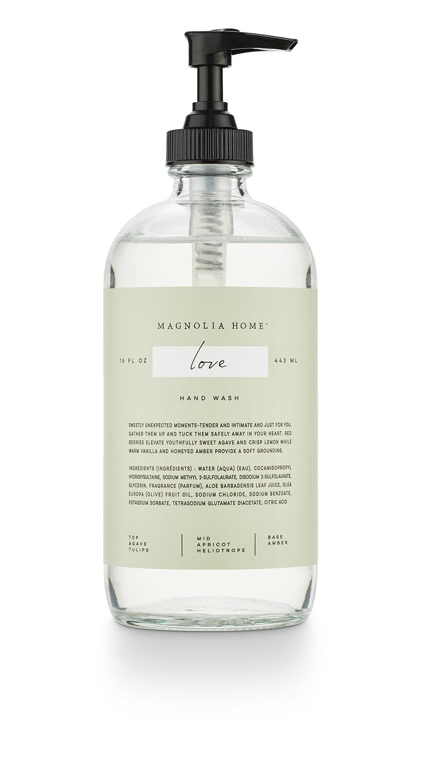 Magnolia Home Love Glass Hand Wash