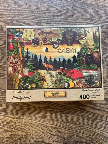"Columbus, Montana: ""Mountain Lodge"" Puzzle"