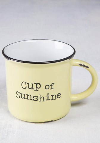 Natural Life Camp Mug Cup of Sunshine