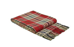 Hunter's Run Plaid Throw