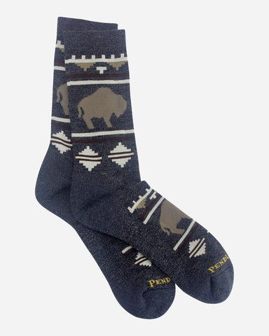 Pendleton Roaming Bison Camp Socks!!!